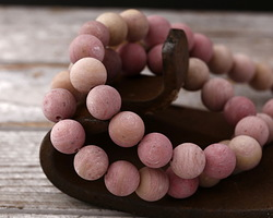 Rhodonite (matte) Round 10mm