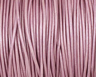 Chandni (metallic) Round Leather Cord 1.5mm
