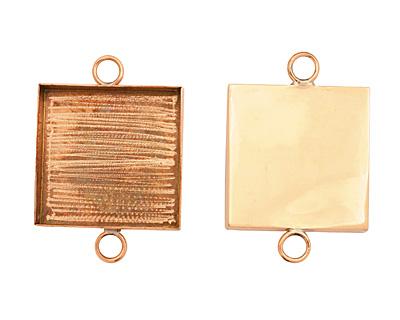 Copper Square Bezel Link 31mm