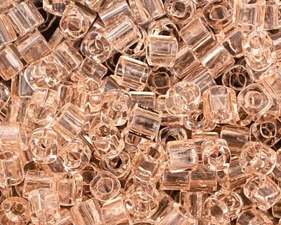 TOHO Transparent Rosaline Cube 1.5mm Seed Bead