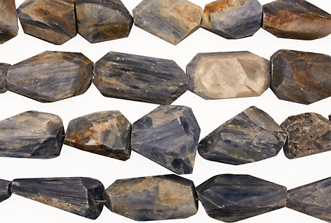 Kyanite Faceted Nugget (rough) 26-40x16-24mm