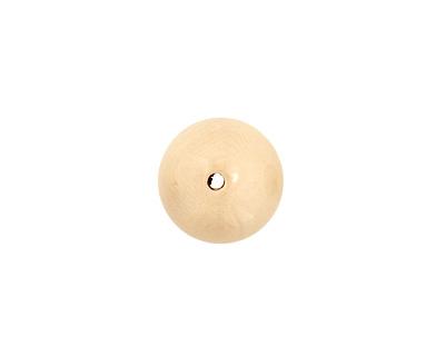 Tagua Nut Cream Round 20mm