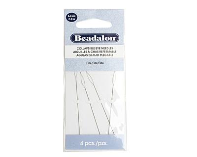 Beadalon Collapsible Eye Fine Beading Needle 2.5 inches (6.4cm)