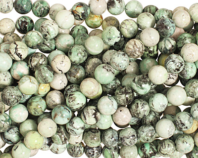 Grass Green Turquoise Round 10mm