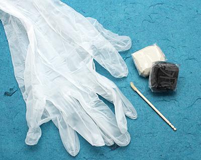 Black Crystal Clay 25 grams