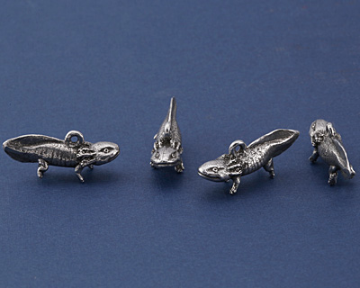 Green Girl Pewter Axolotl 31x14mm