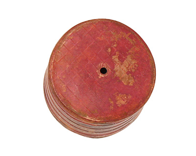 Patricia Healey Copper Ridged Barrel 14-15x18mm