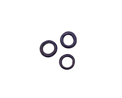 C-Koop Enameled Metal Dark Blue Ring 10-11mm
