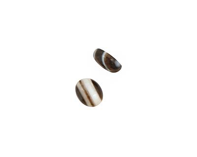 Black Sardonyx Oval Cabochon 8x10mm
