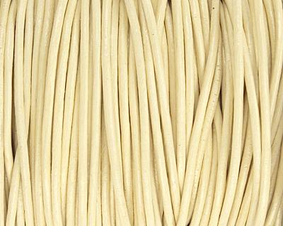 Primrose Round Leather Cord 2mm