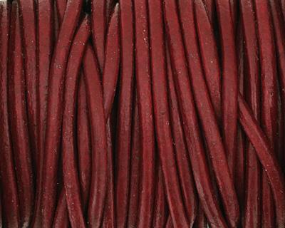 Granada Round Leather Cord 2mm