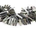 Burma Jade Graduated Stick Drops 6-9x13-43mm