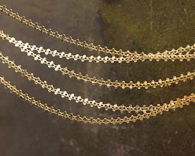 Zola Elements Bracket Link Brass Chain
