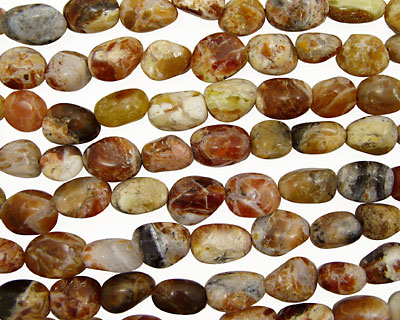 Brandy Opal Tumbled Nugget 14-22x10-14mm