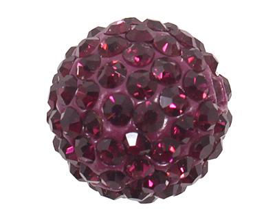 Violet Pave Round 12 (1.5mm hole)