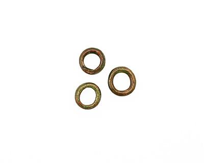 C-Koop Enameled Metal Olive Ring 10-11mm