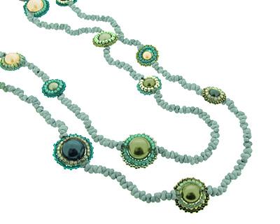 Glass Garden Ocean Berry Necklace Kit