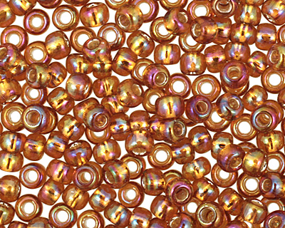 TOHO Rainbow Topaz (with Silver Lining) Round 11/0 Seed Bead