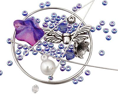 Glass Garden Sapphire Fairy Kit