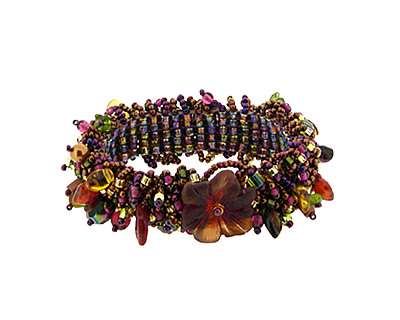 Glass Garden Autumn Caterpillar Bracelet Kit