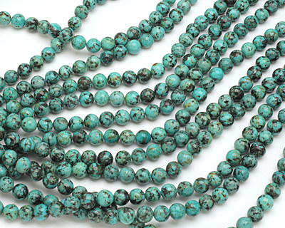 African Turquoise (A) Round 10mm
