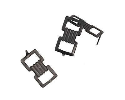 Vintaj Arte Metal Double Buckle Decorivet 22x11.5mm