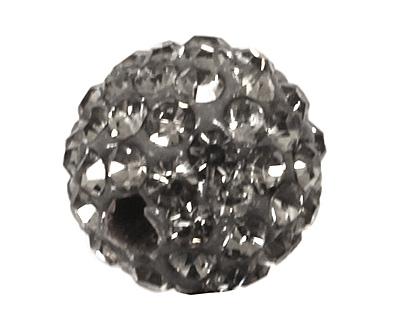 Black Diamond Pave Round 8mm (1.5mm hole)