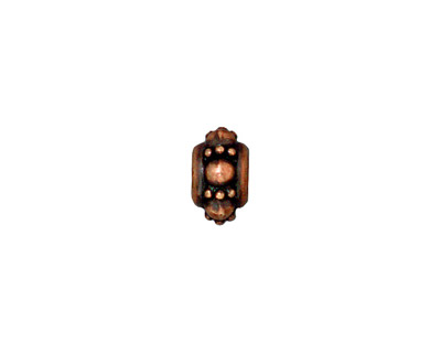 TierraCast Antique Copper (plated) Turkish Euro 5x10mm