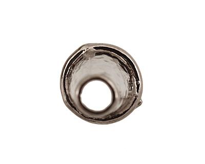 Gunmetal Small Plain Cone 15x8mm