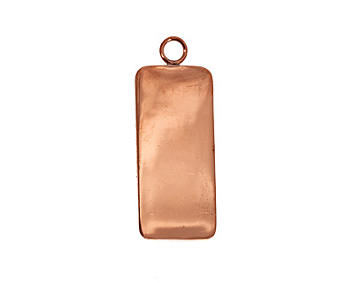 Copper Lipped Narrow Rectangle Bezel 12x36mm
