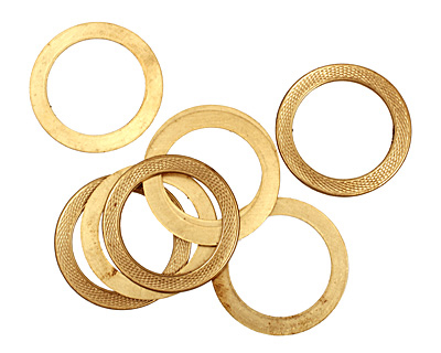Brass Serpent Ring 40mm