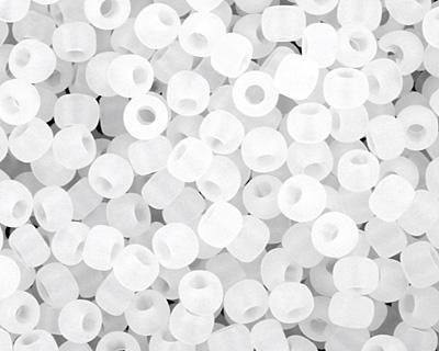 TOHO Ceylon Frosted Snowflake Round 11/0 Seed Bead