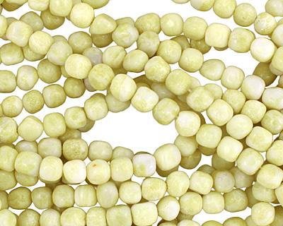 Natural Lemon Jade Tumbled Nugget 8-9mm