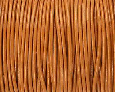 Henna Round Leather Cord 2mm