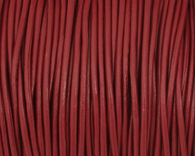 Corida Red Leather Cord 1.5mm