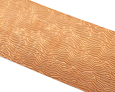 Organic Patterned Copper Strip 2.5
