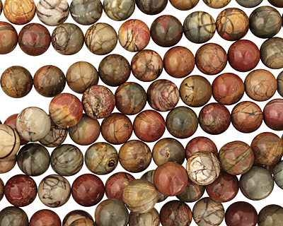 Red Creek Jasper Round 18mm