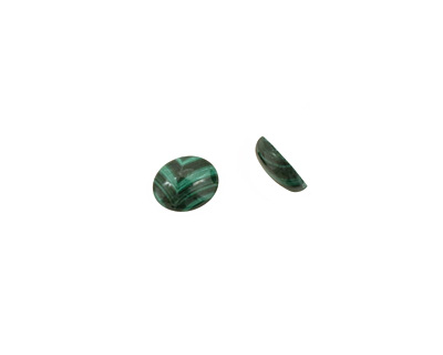 Malachite Oval Cabochon 8x10mm