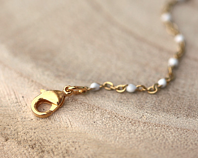 Gold (plated) Lobster Clasp 5x9mm