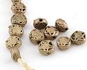 African Brass Star Coin 12-13mm