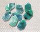 Zola Elements Emerald Marbled Acetate Gem Cut Focal 18x31mm