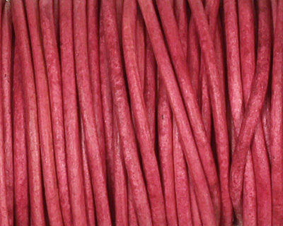 Natural Cyclaman Round Leather Cord 1.5mm