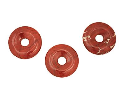 Red Jasper Donut 35mm