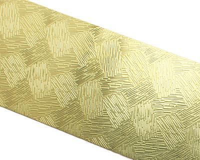 Hay Patterned Brass Strip 2.5
