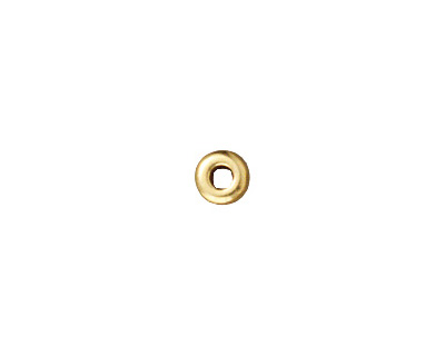TierraCast Gold (plated) Disk Heishi 3mm