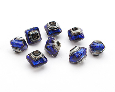 Grace lampwork Royal Ridge Diamond 12-13mm