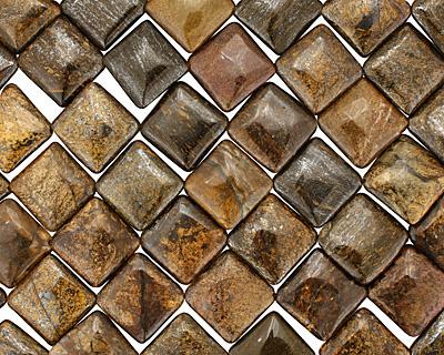 Bronzite Diamond 26mm