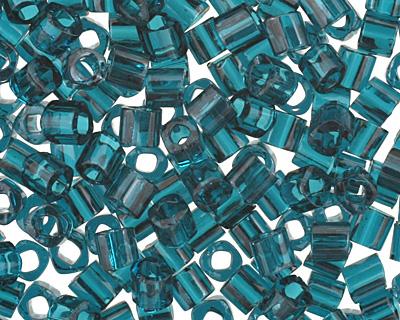 TOHO Transparent Capri Blue Cube 1.5mm Seed Bead