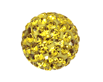 Dandelion Pave Round 10mm (1.5mm hole)