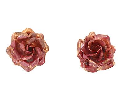 Patricia Healey Copper Rose Pendant 26mm